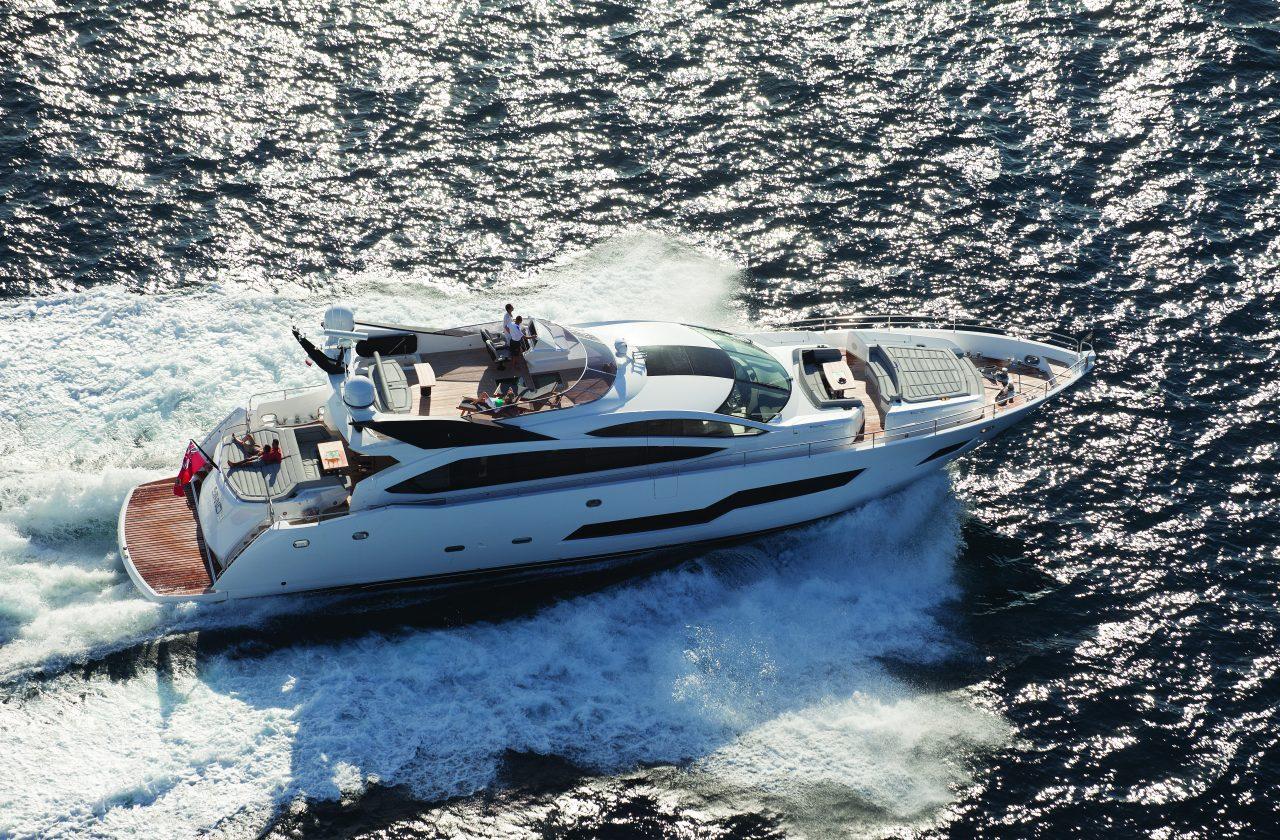 Sunseeker 101 Sport Yacht | Экстрьер 6