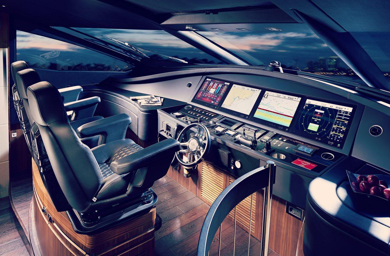 Sunseeker 101 Sport Yacht | Интерьер 1