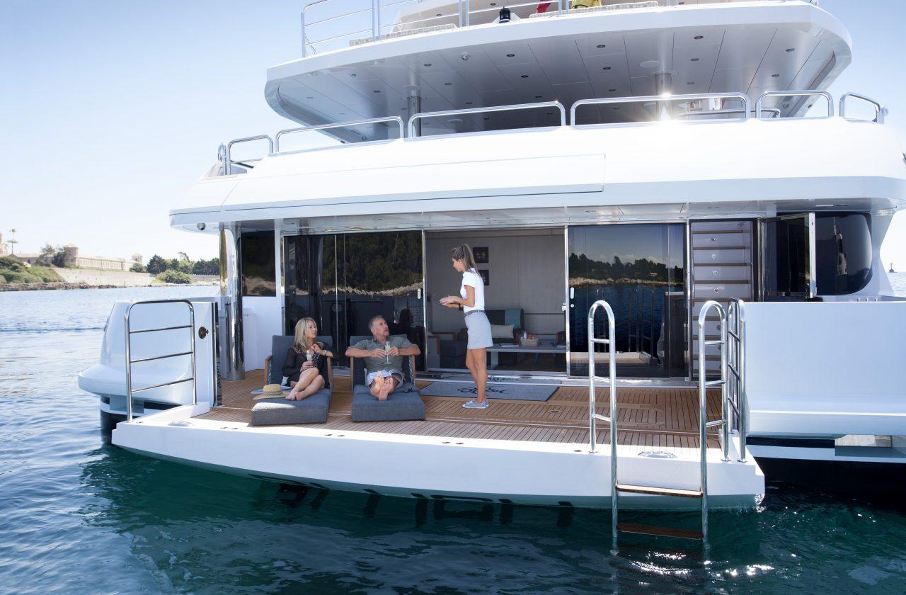Sunseeker 155 Yacht | Экстрьер 6