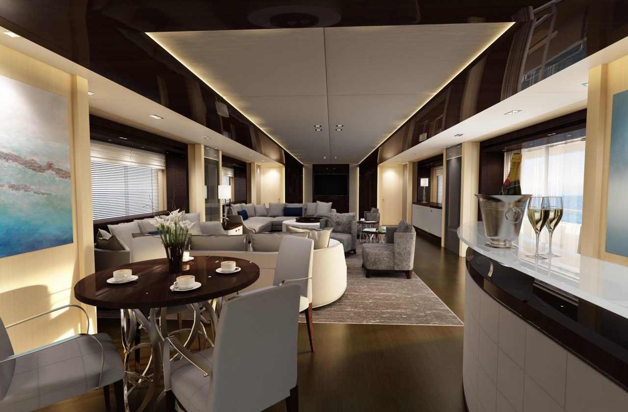 Sunseeker 155 Yacht | Интерьер 5