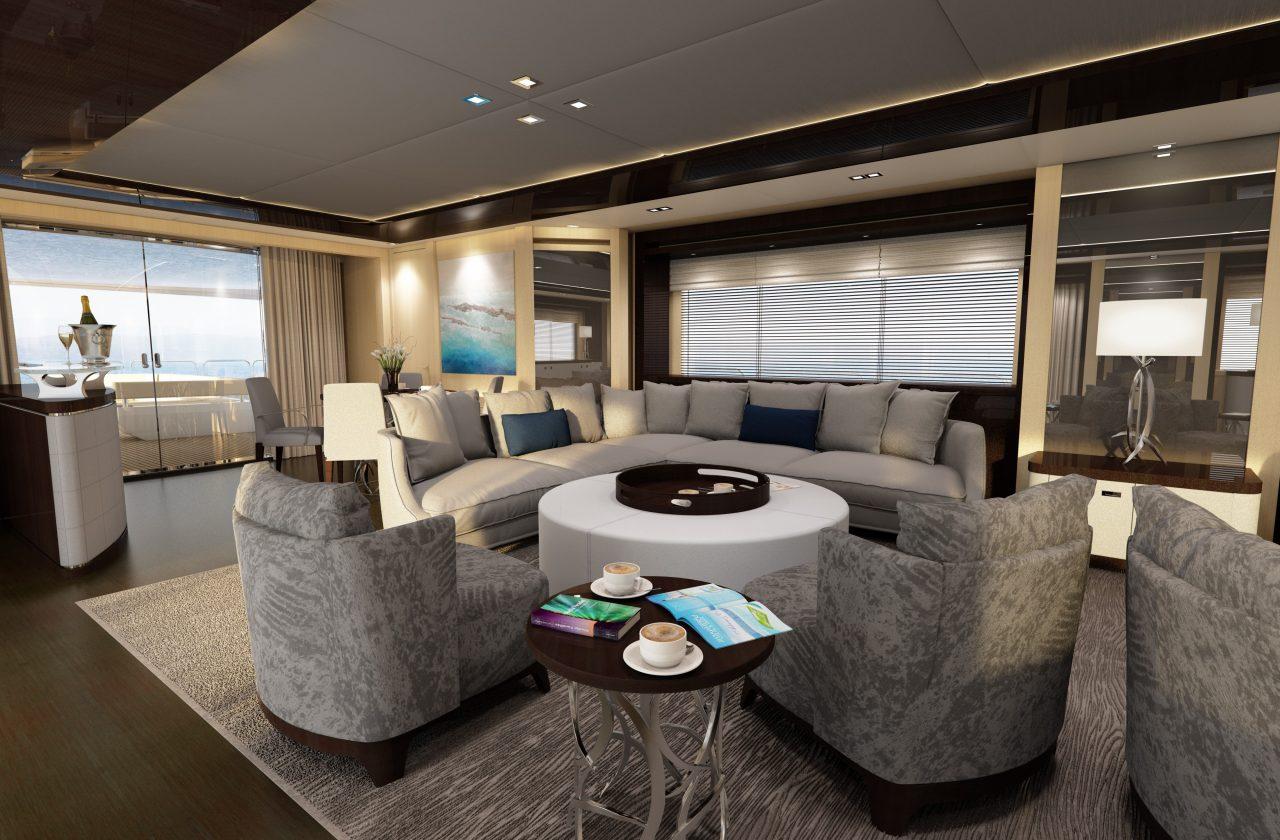 Sunseeker 155 Yacht | Интерьер 4