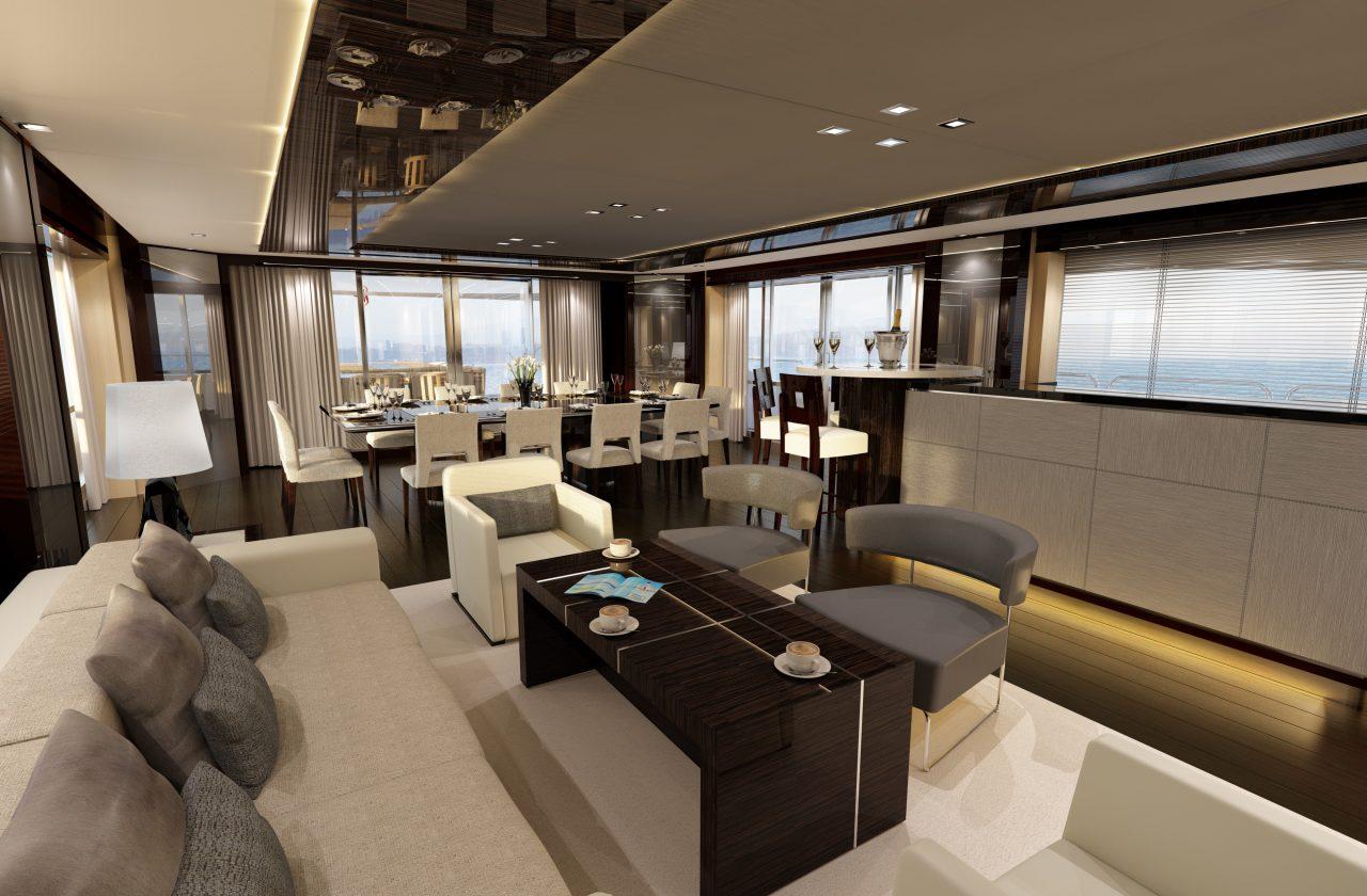 Sunseeker 155 Yacht | Интерьер 12
