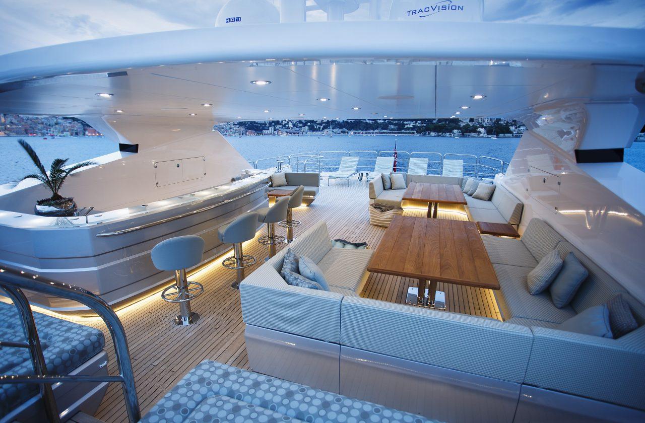 Sunseeker 155 Yacht | Интерьер 7