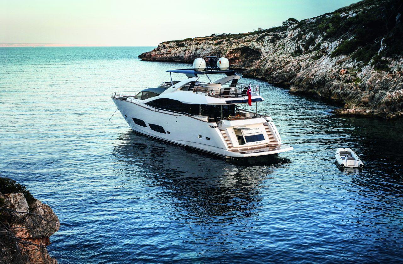 Sunseeker 28 Metre Yacht | Экстрьер 3
