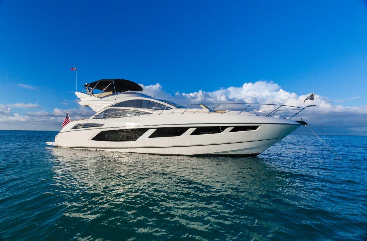 Sunseeker 68 Sport Yacht   Экстрьер 7