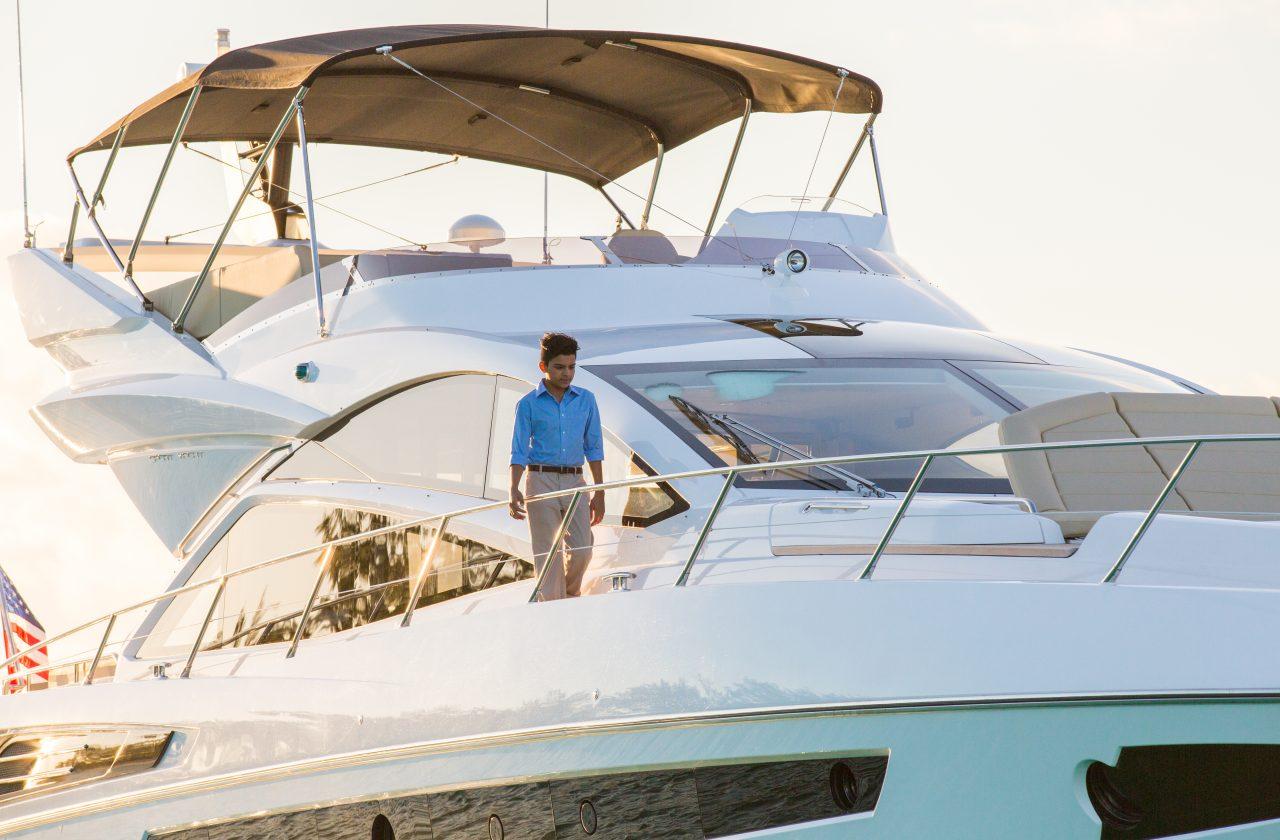 Sunseeker 68 Sport Yacht   Экстрьер 4