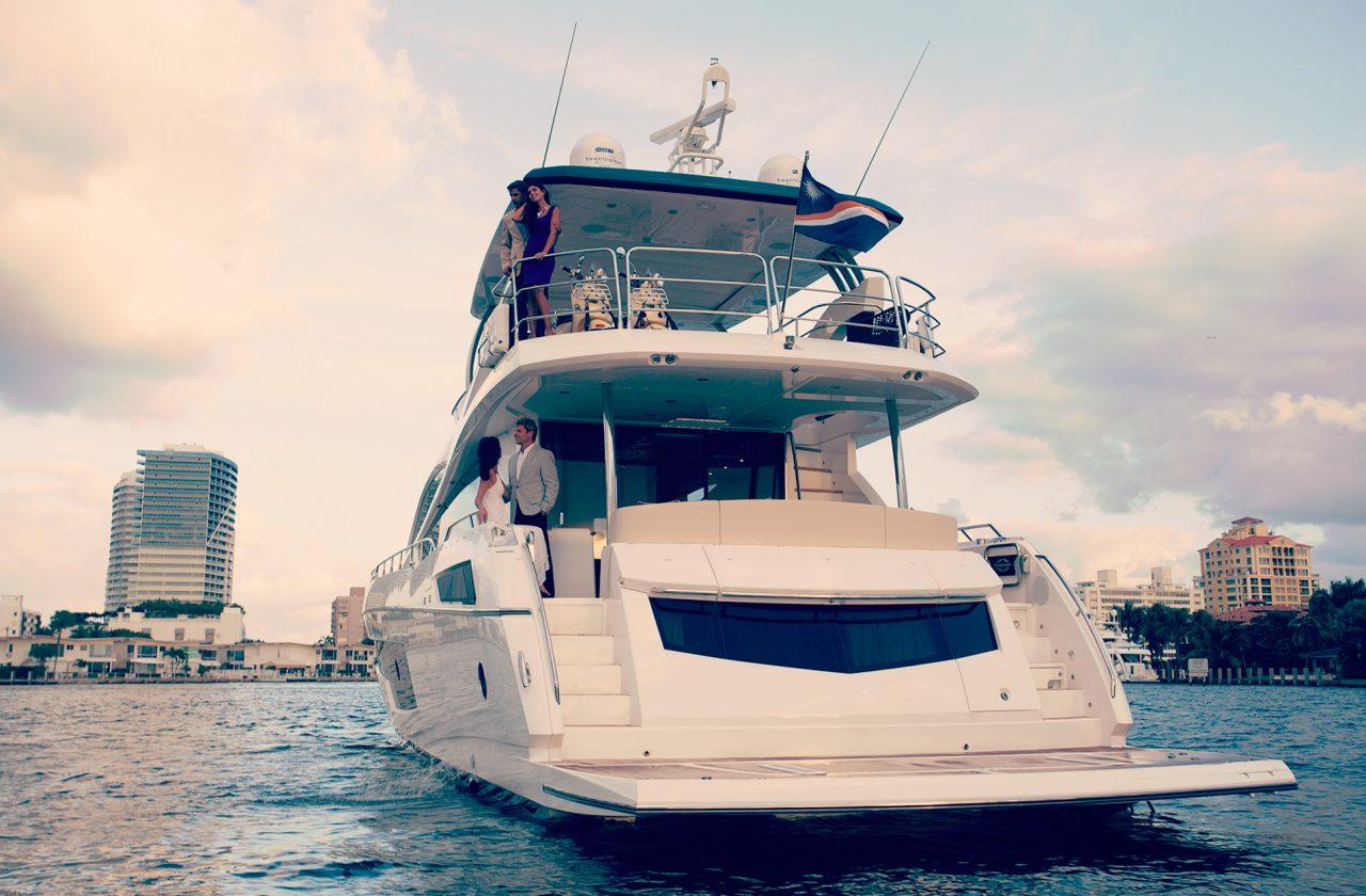Sunseeker 75 Yacht | Экстрьер 7