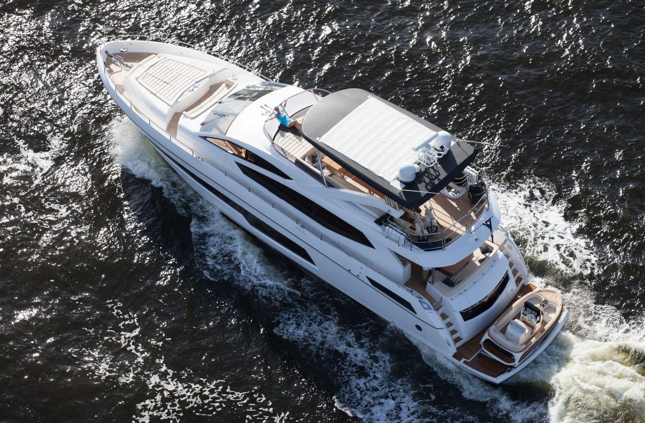 Sunseeker 75 Yacht | Экстрьер 6