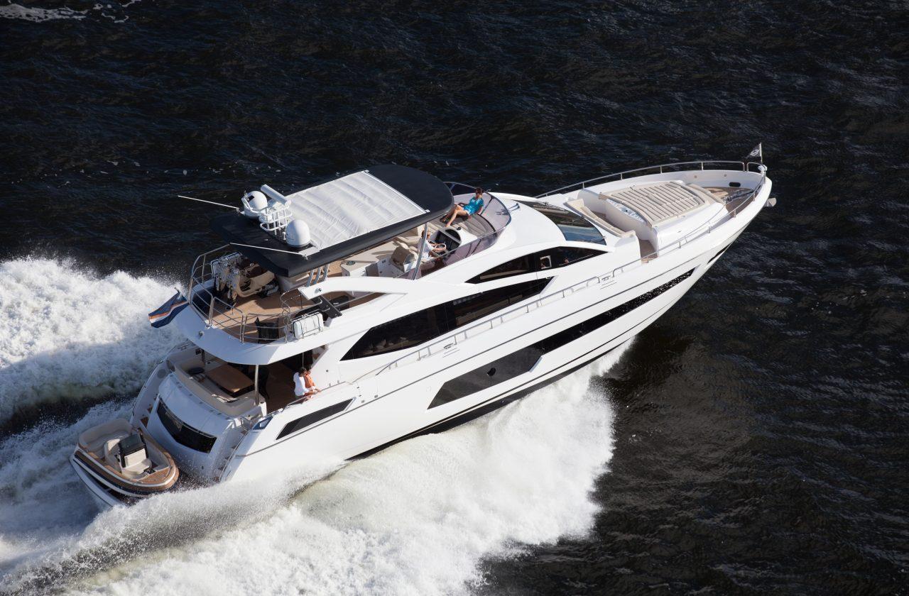 Sunseeker 75 Yacht | Экстрьер 4