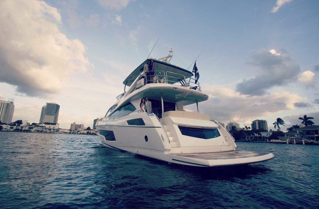 Sunseeker 75 Yacht | Экстрьер 2