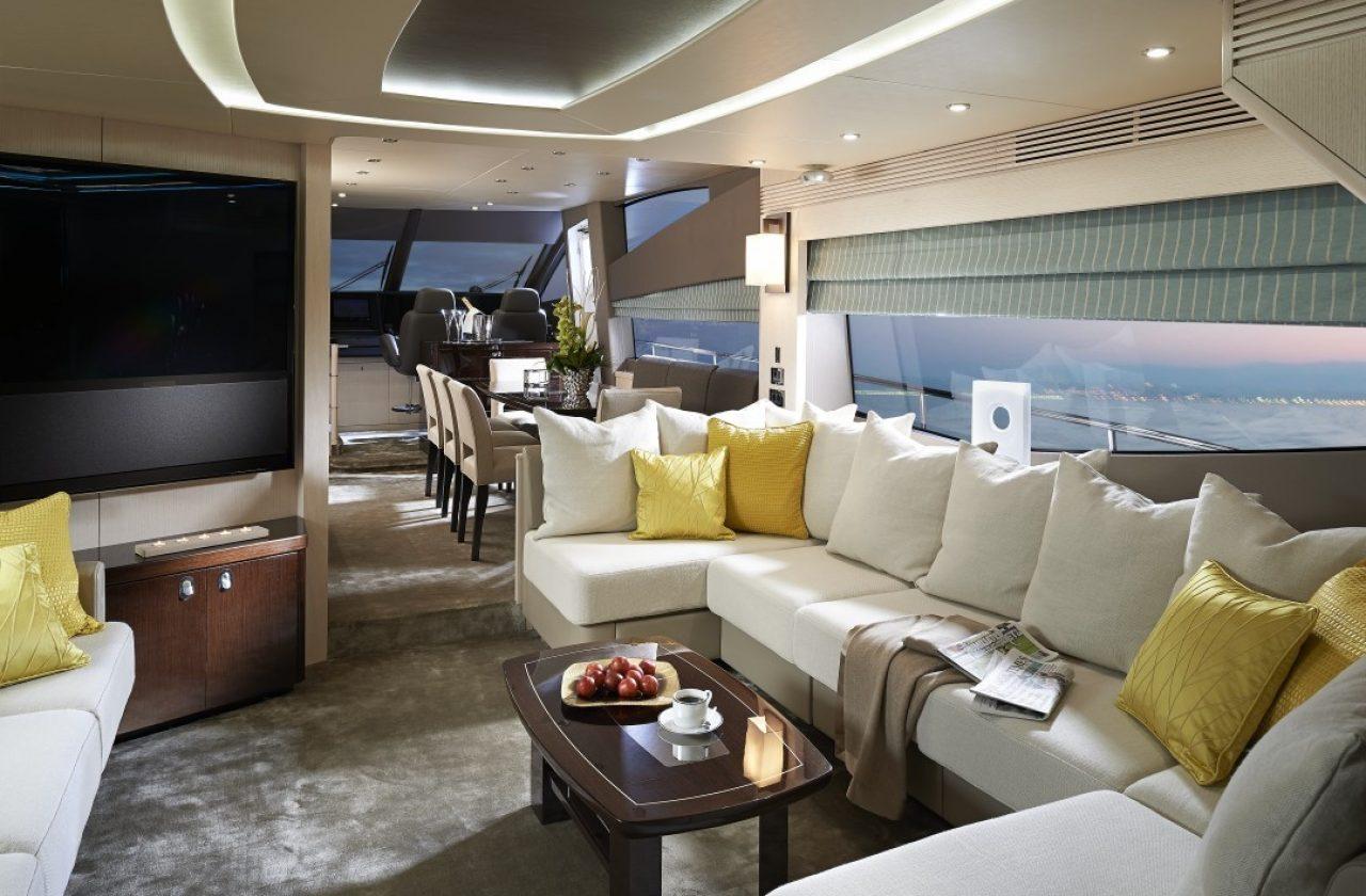 Sunseeker 75 Yacht | Интерьер 13