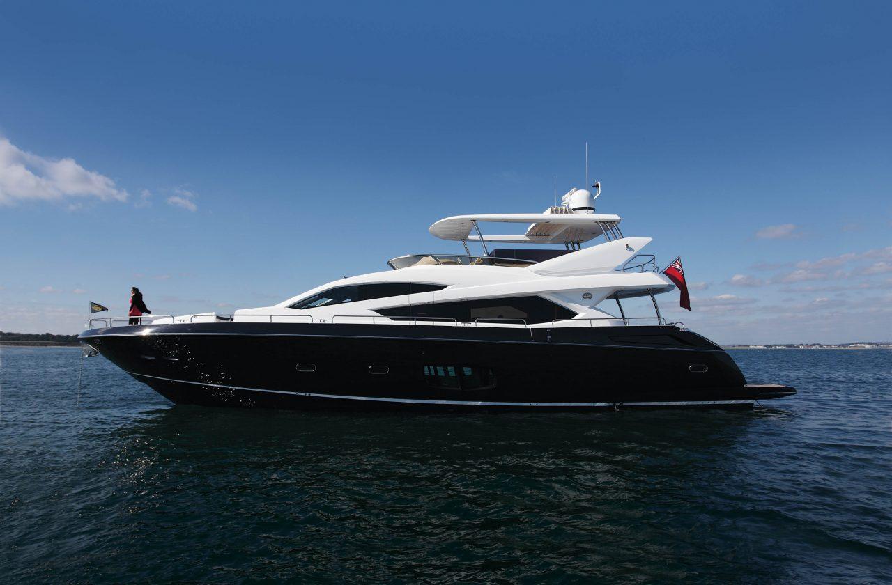 Sunseeker 80 Yacht | Экстрьер 1