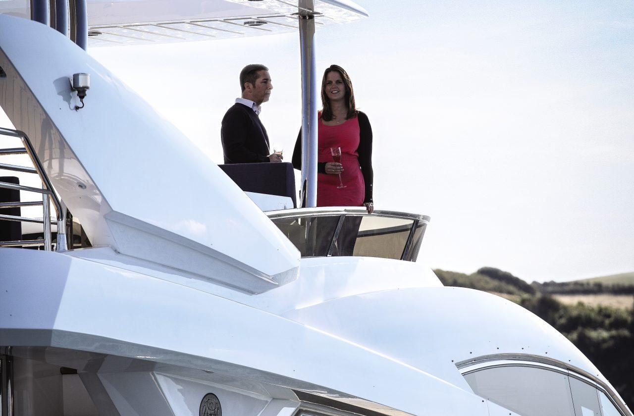 Sunseeker 80 Yacht | Экстрьер 2