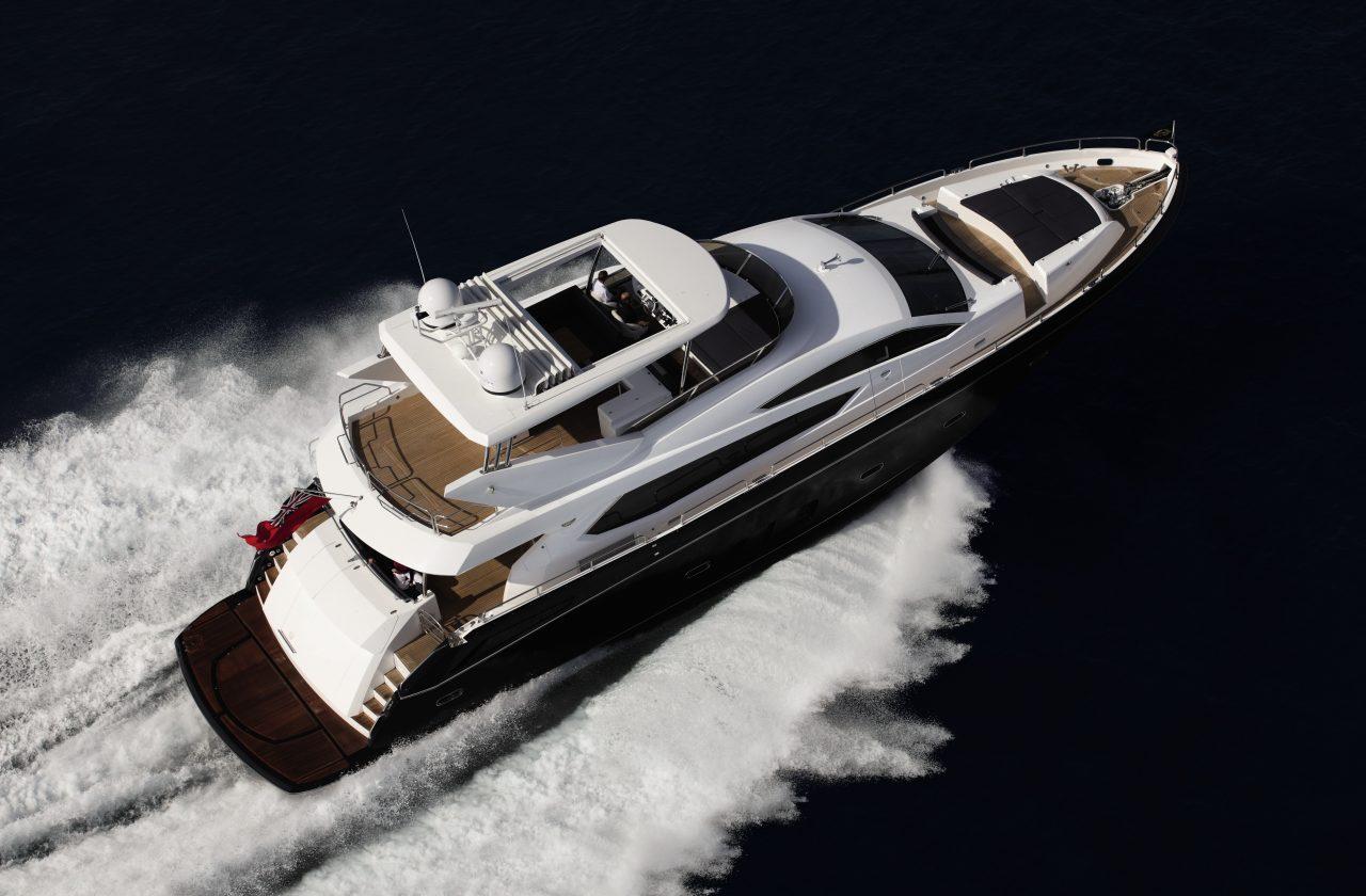 Sunseeker 80 Yacht | Экстрьер 3