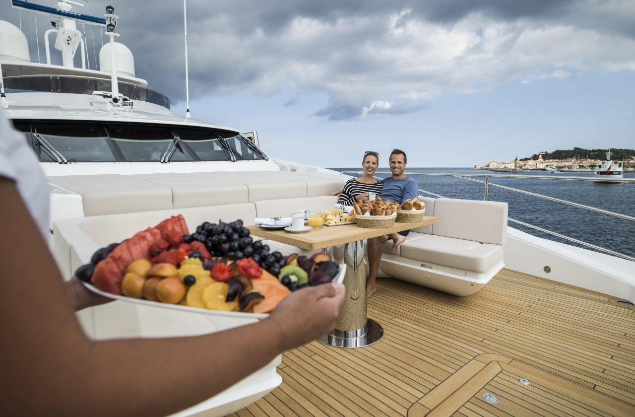 Sunseeker 131 Yacht | Интерьер 14