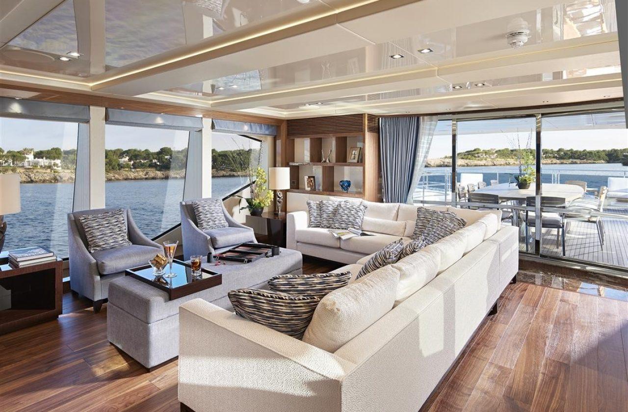 Sunseeker 131 Yacht | Интерьер 0