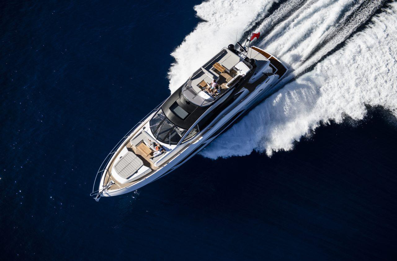 Sunseeker 74 Sport Yacht | Экстрьер 4