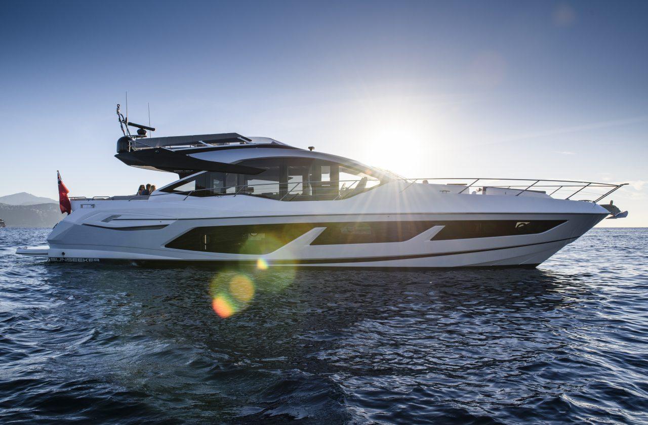 Sunseeker 74 Sport Yacht | Экстрьер 5