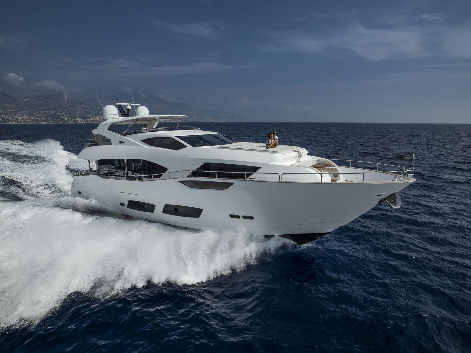 Sunseeker 95 Yacht | Экстрьер 7