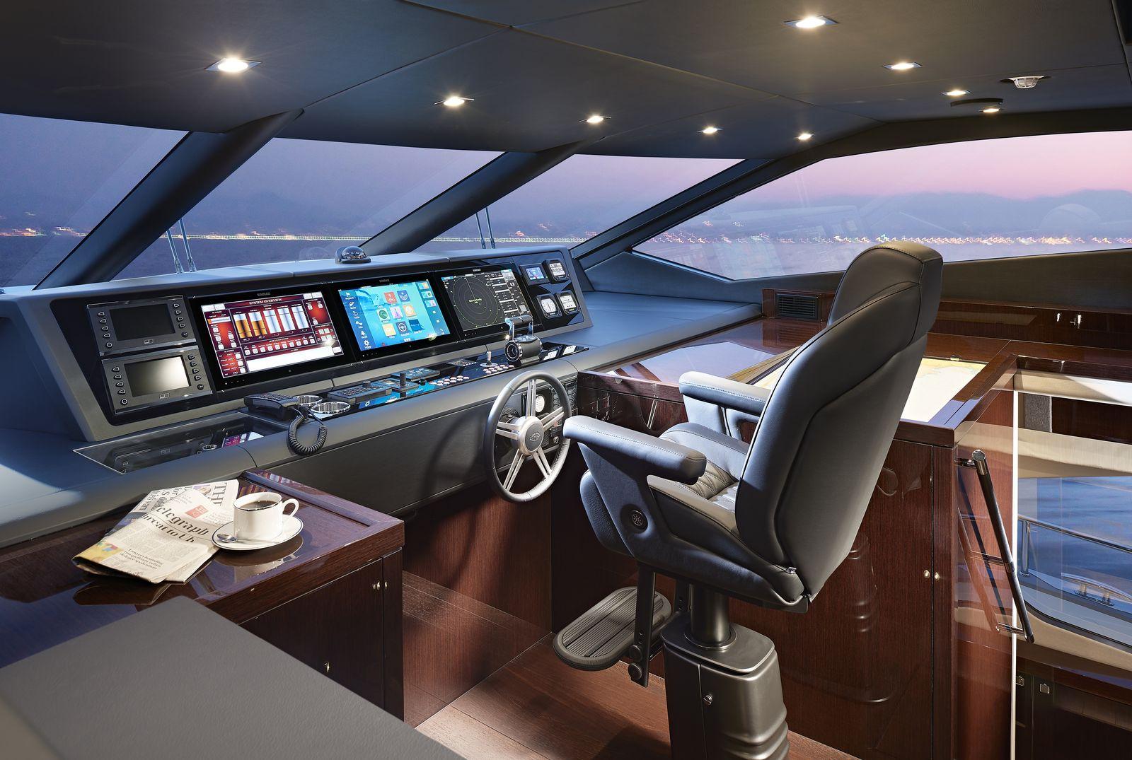 Sunseeker 95 Yacht | Интерьер 13