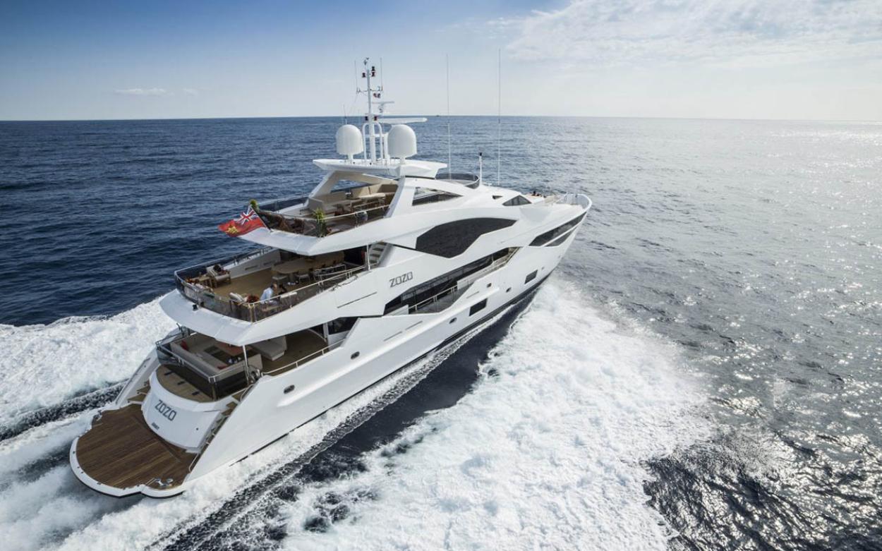 Sunseeker 131 Yacht | Экстрьер 1