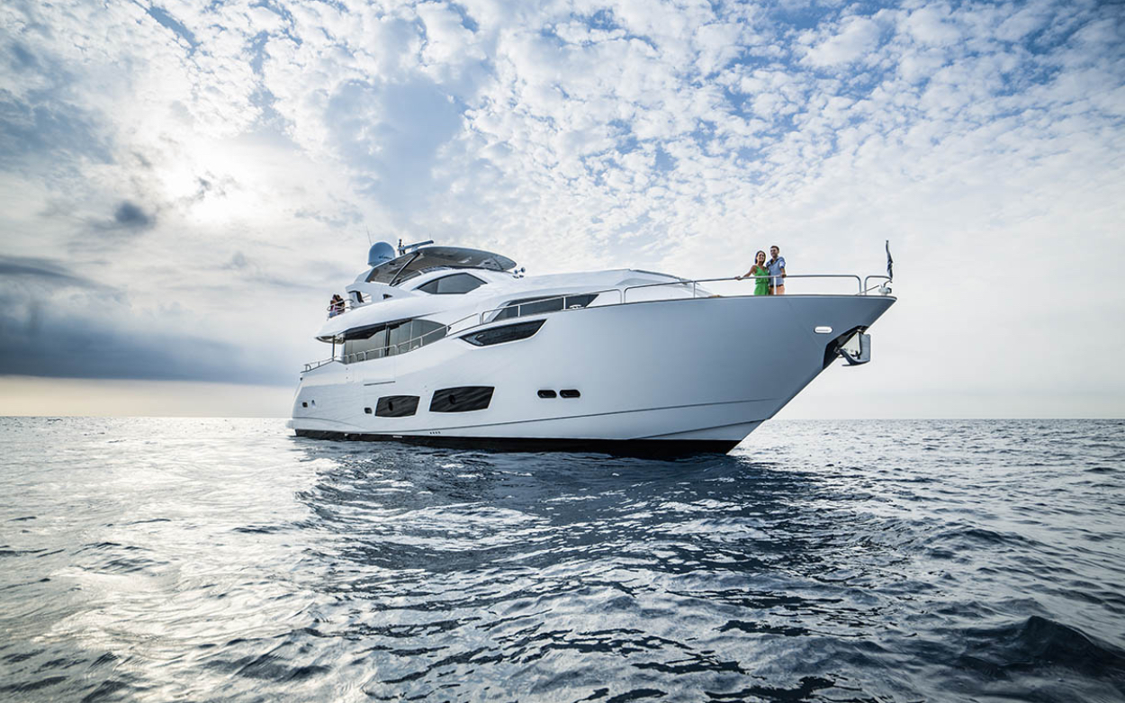 Sunseeker 95 Yacht | Экстрьер 1
