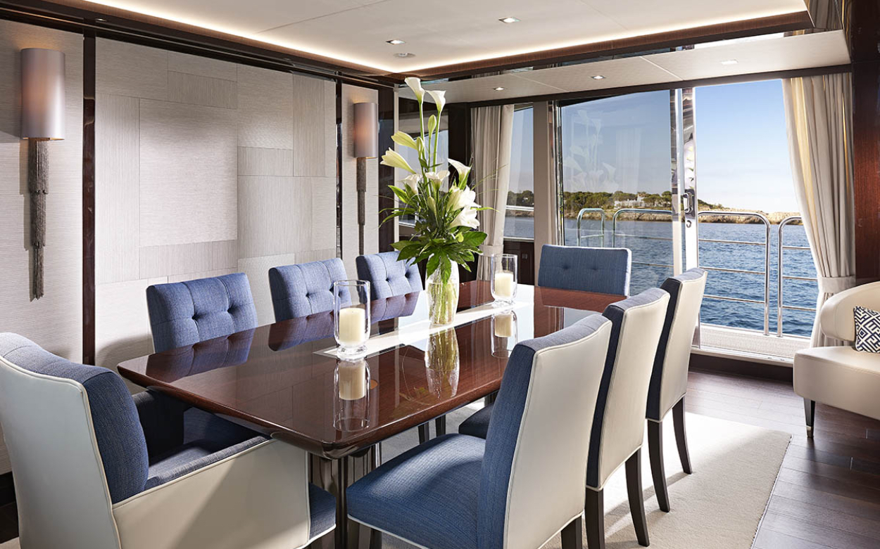 Sunseeker 95 Yacht | Интерьер 1