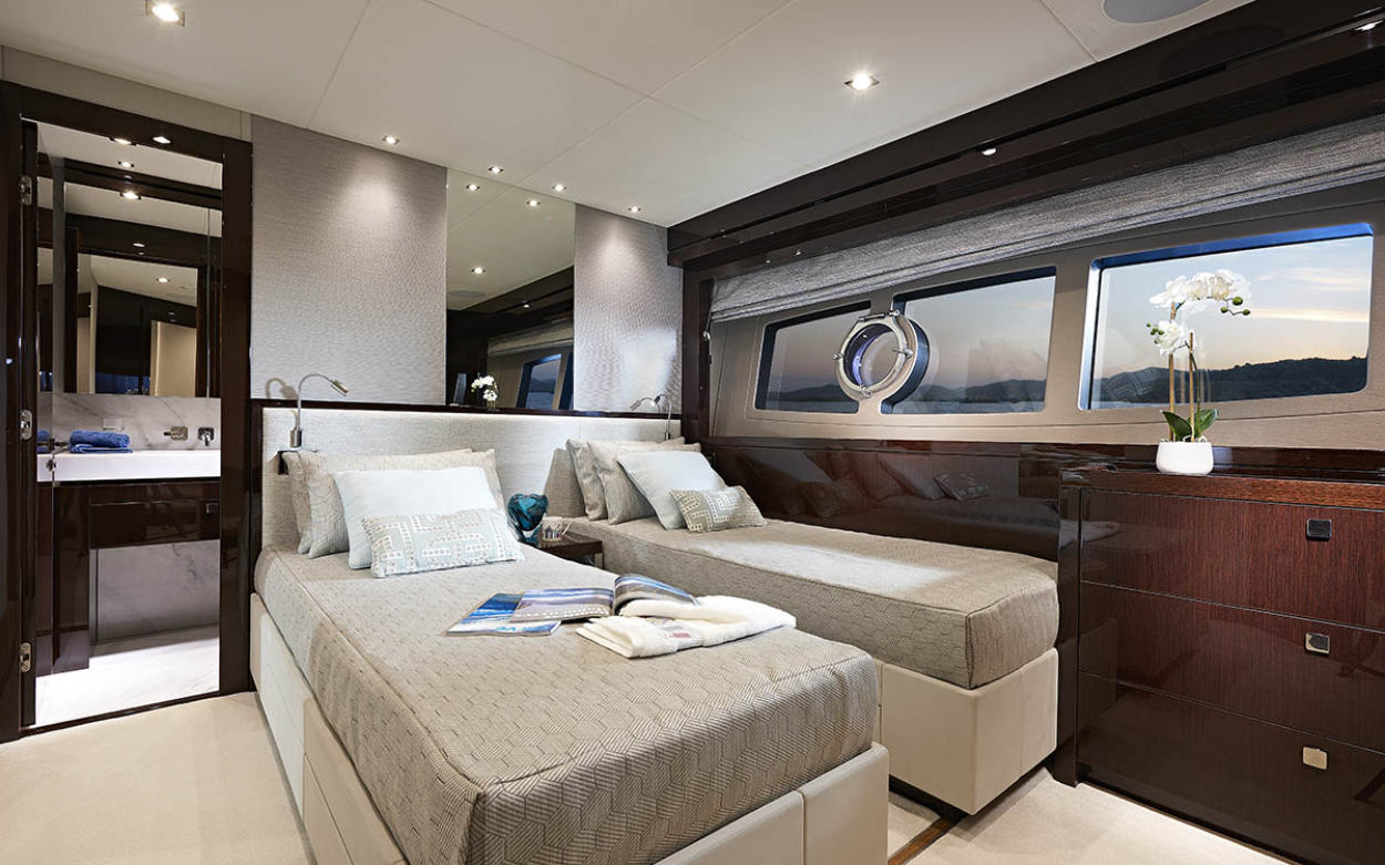 Sunseeker 95 Yacht | Интерьер 7