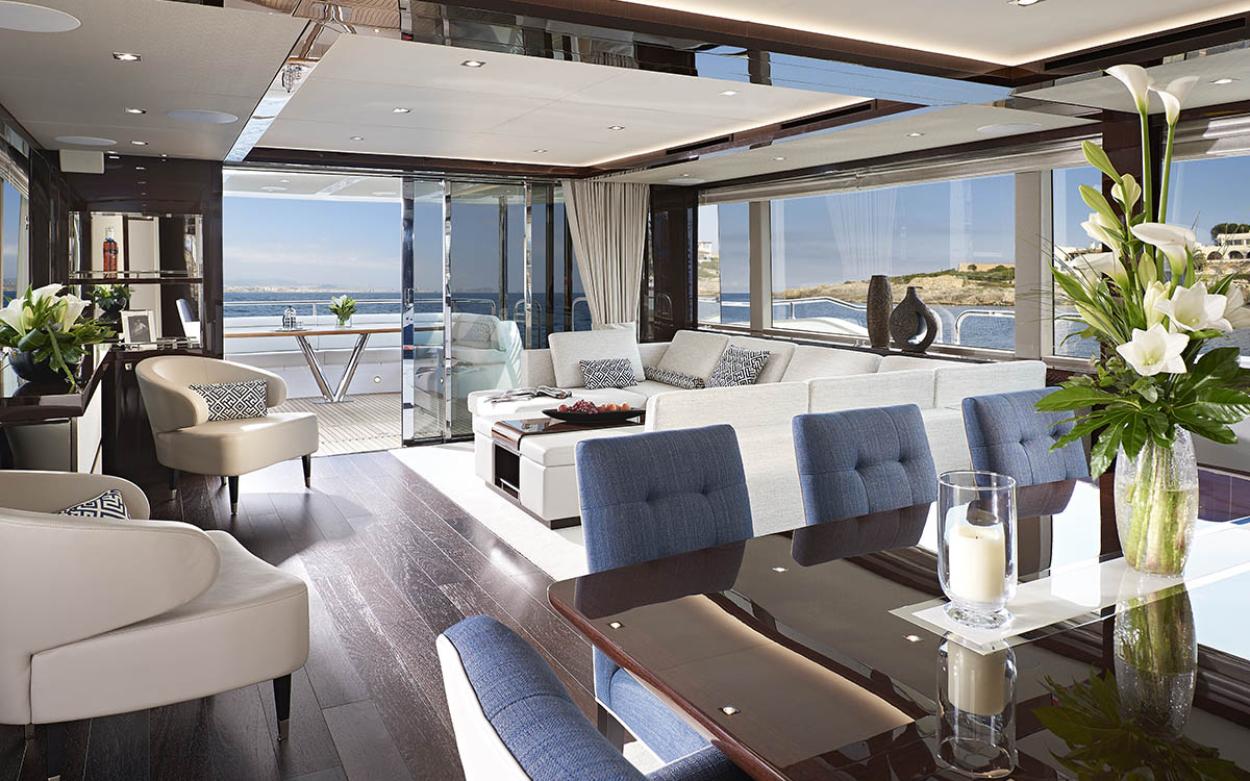 Sunseeker 95 Yacht | Интерьер 0