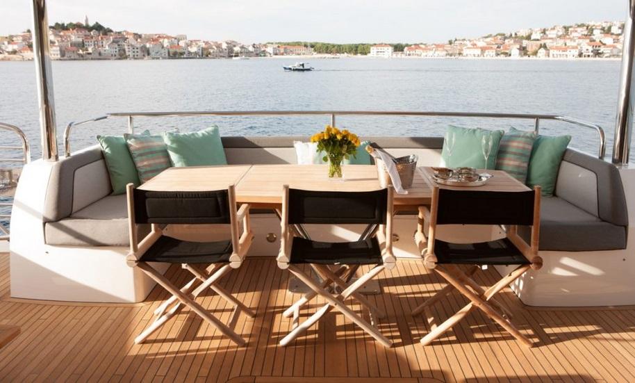 Sunseeker 28 Metre Yacht | Экстрьер 12