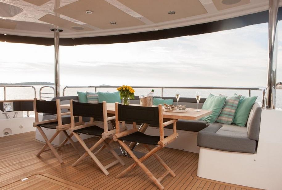 Sunseeker 28 Metre Yacht | Экстрьер 11