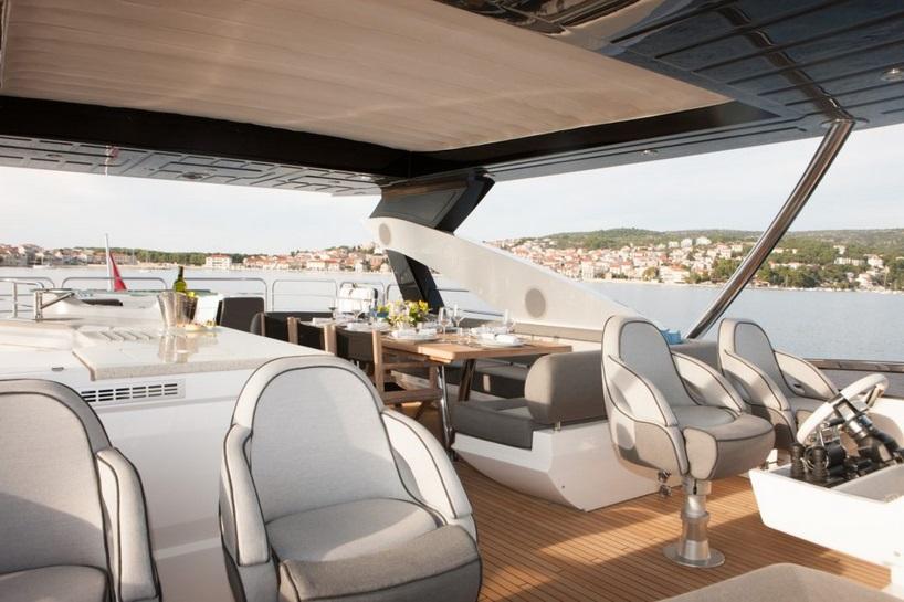 Sunseeker 28 Metre Yacht | Экстрьер 14