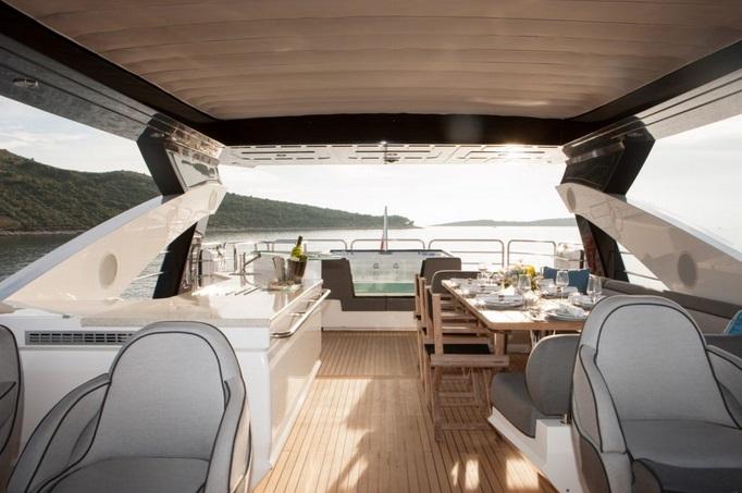 Sunseeker 28 Metre Yacht | Экстрьер 15
