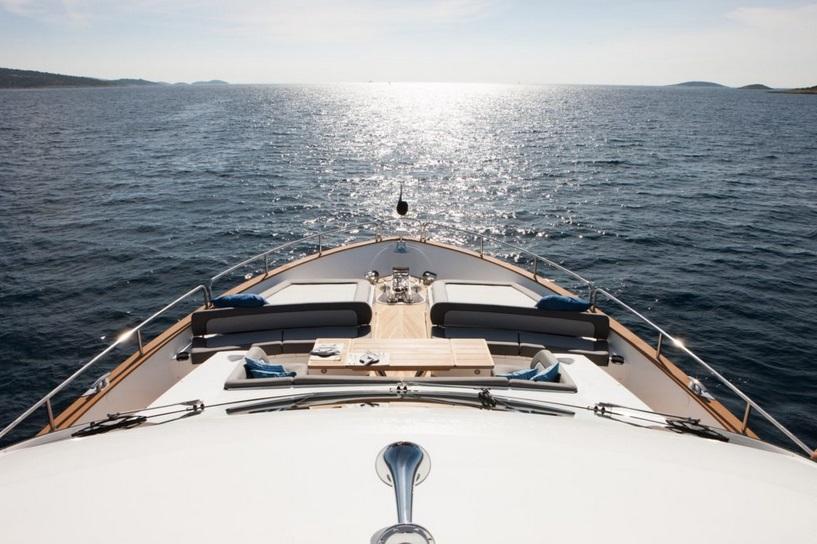 Sunseeker 28 Metre Yacht | Экстрьер 9