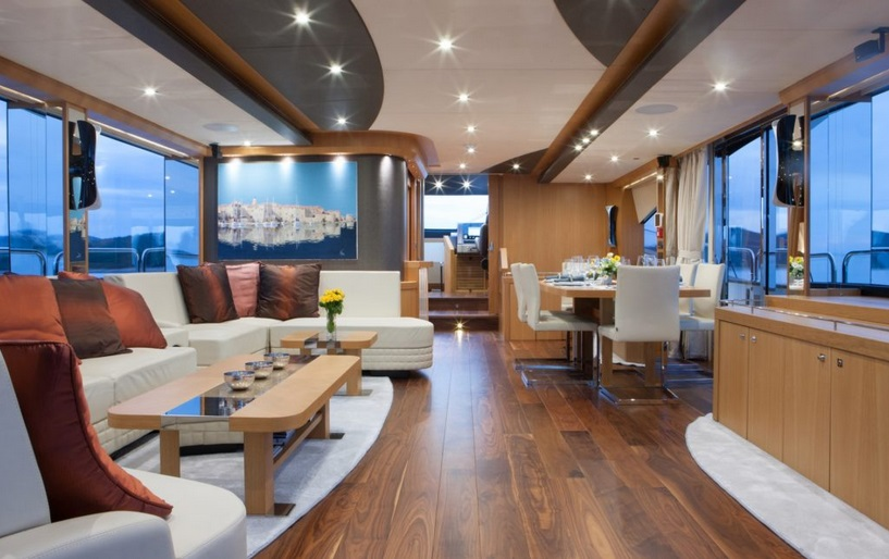 Sunseeker 28 Metre Yacht | Интерьер 1