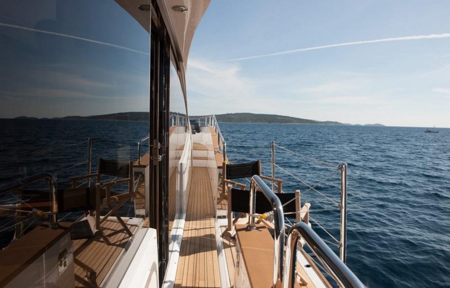 Sunseeker 28 Metre Yacht | Экстрьер 8