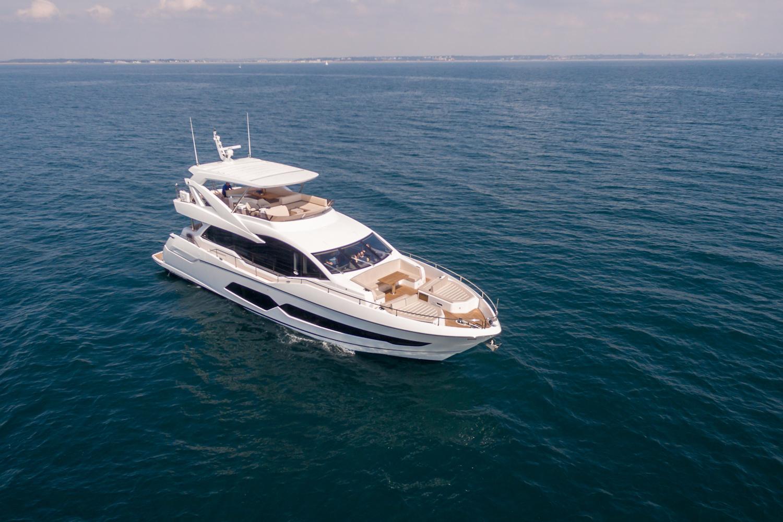 Sunseeker 76 Yacht (206) | Экстрьер 2