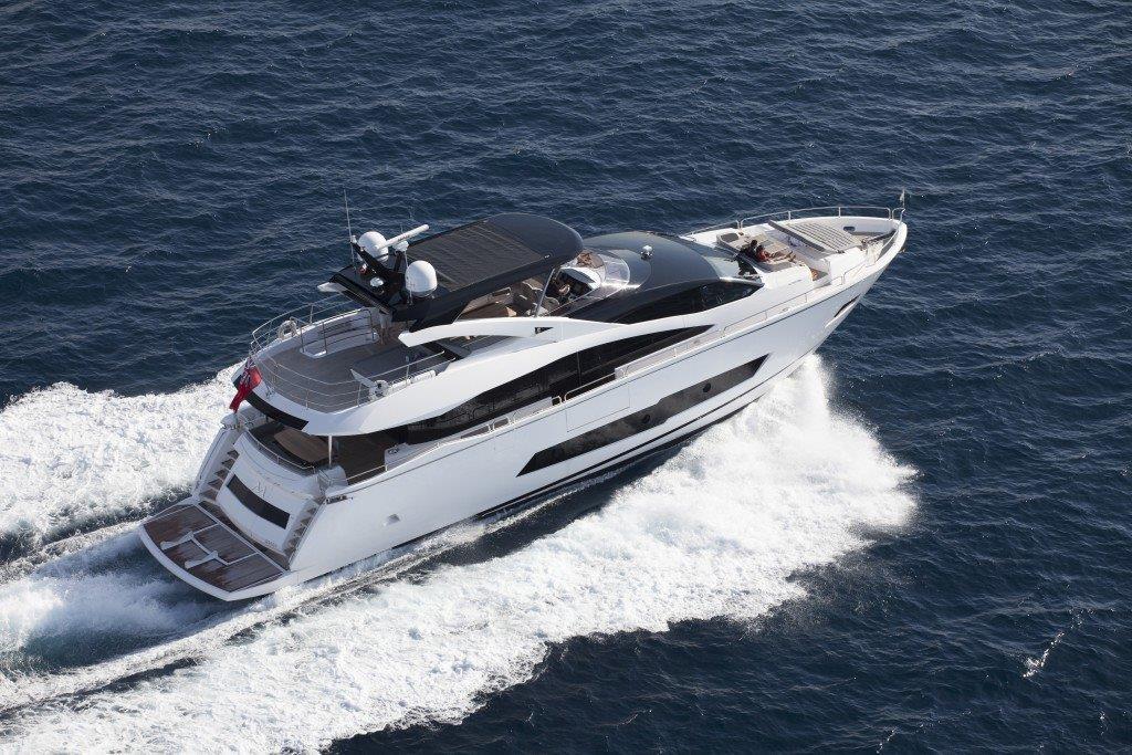 Sunseeker 86 Yacht (REF. SS-8614) | Экстрьер 2