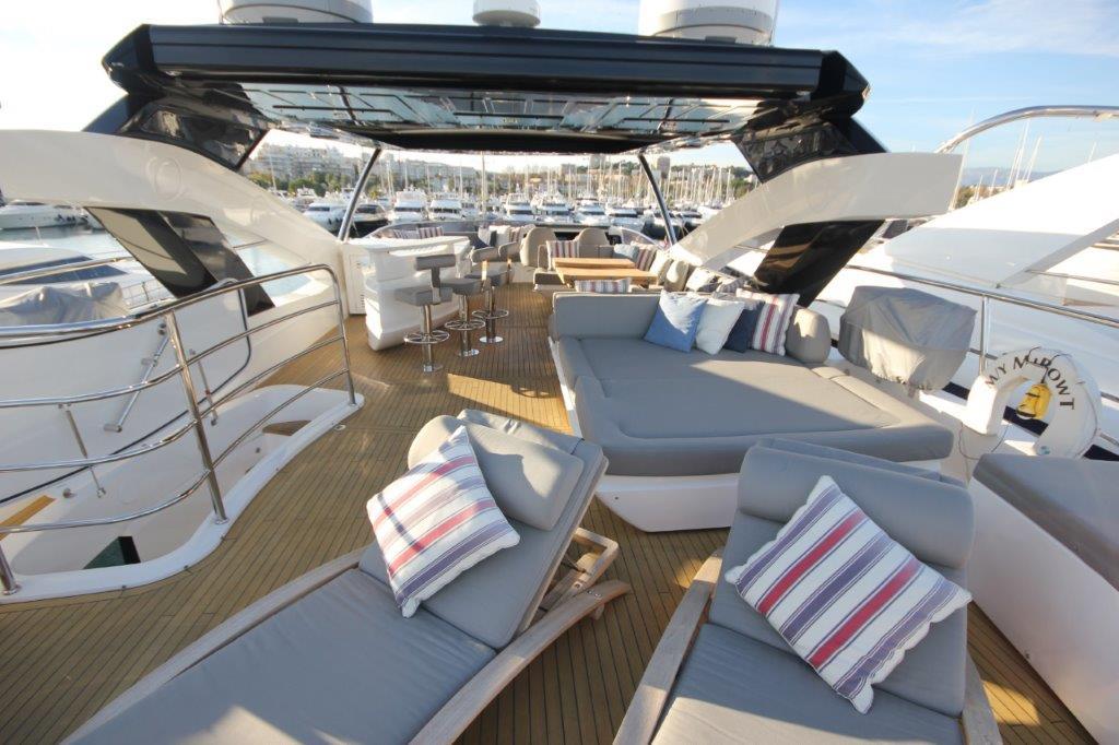 Sunseeker 86 Yacht (REF. SS-8614) | Экстрьер 8