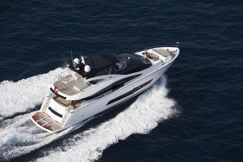 Sunseeker 86 Yacht | Экстрьер 1