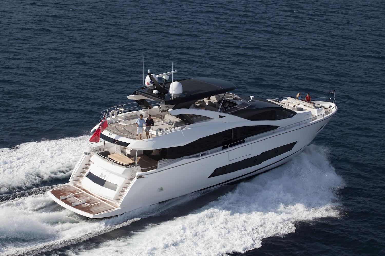 Sunseeker 86 Yacht | Экстрьер 3