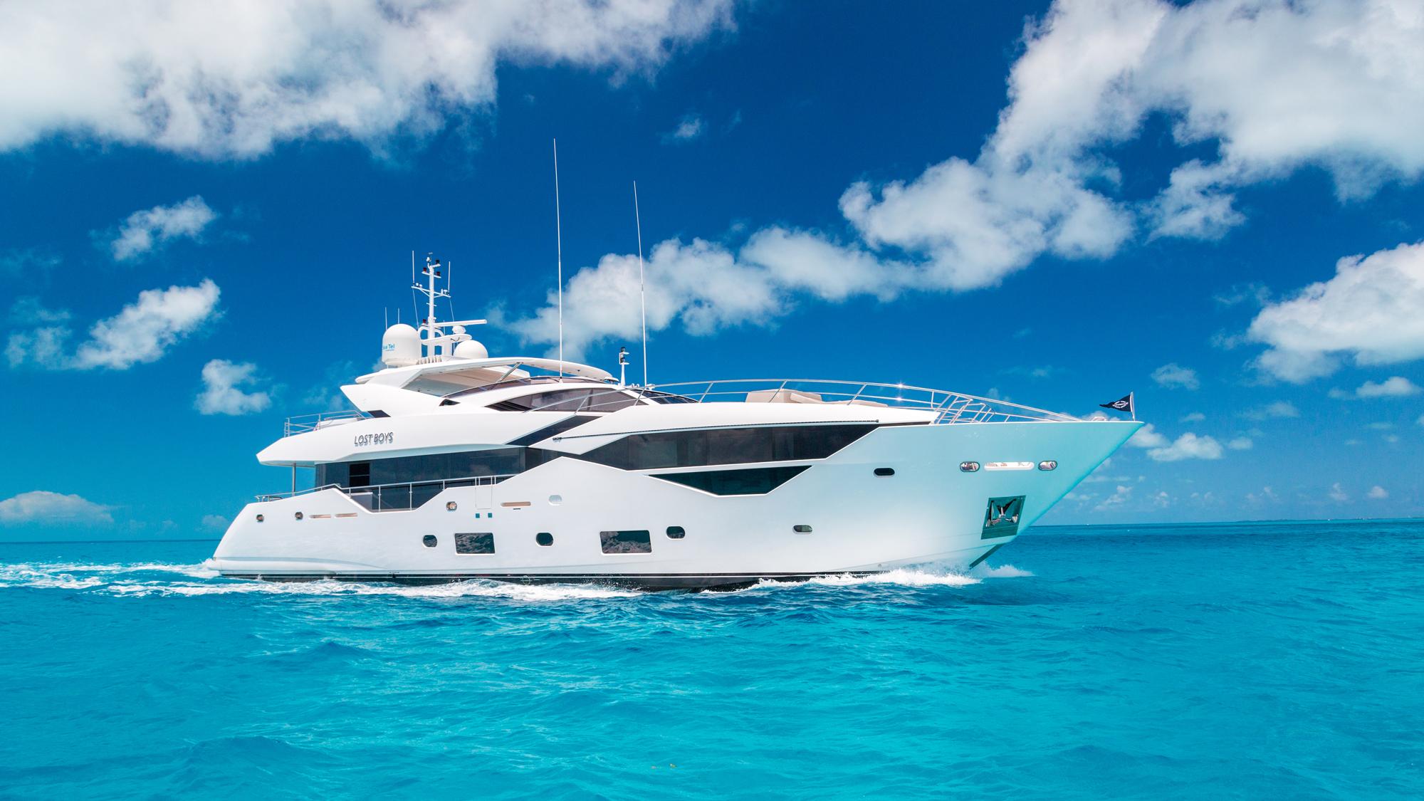 Sunseeker 116 Yacht | Экстрьер 0