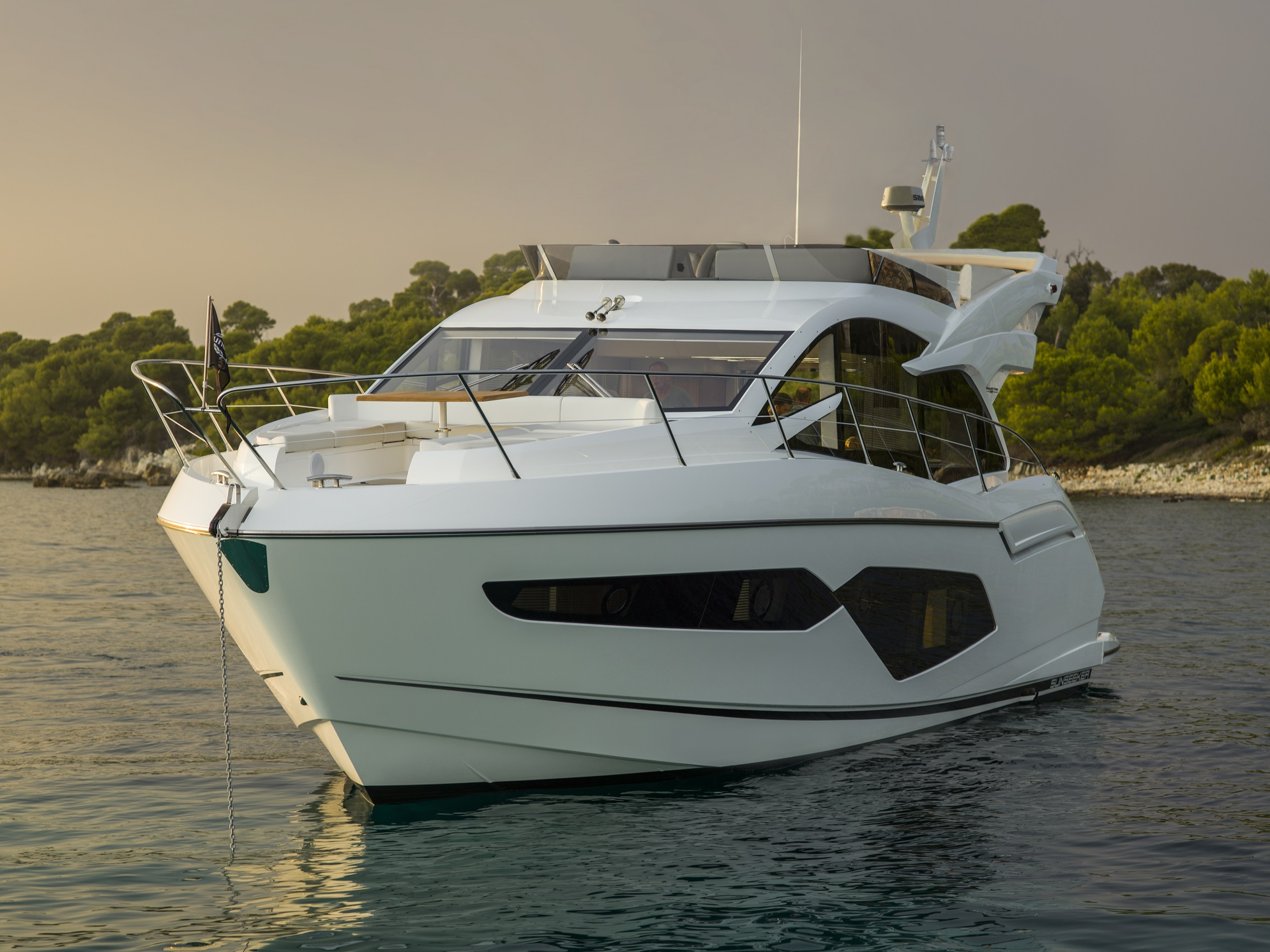Sunseeker Manhattan 52 | Экстрьер 2