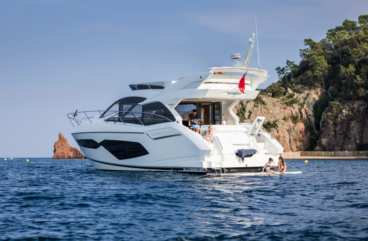 Sunseeker Manhattan 52 | Экстрьер 3