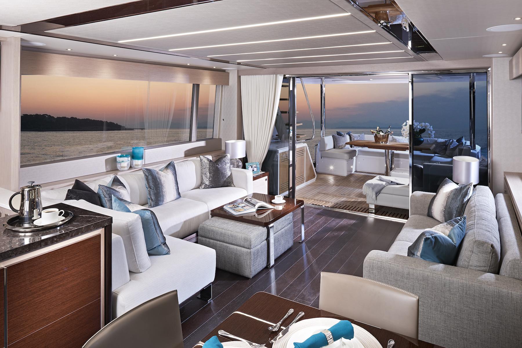 Sunseeker 76 Yacht | Интерьер 1