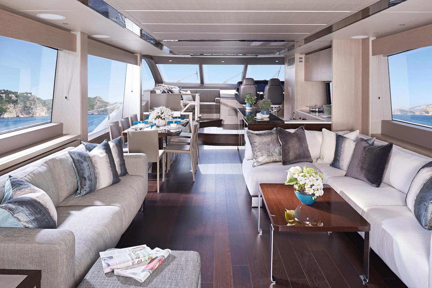 Sunseeker 76 Yacht | Интерьер 0
