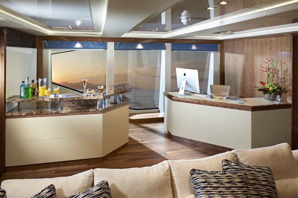 Sunseeker 131 Yacht | Интерьер 4