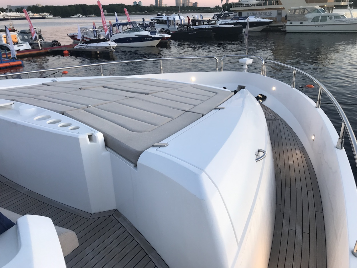 Sunseeker Manhattan 73 (REF. SS-7313), 2 x MAN 1550 | Экстрьер 8