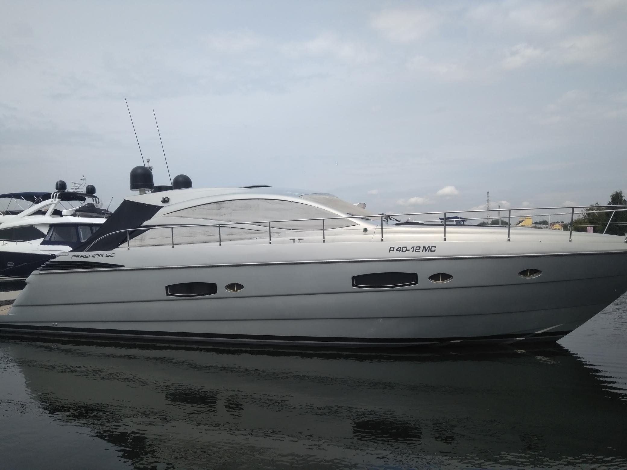 Яхта Pershing 56 | Экстрьер 1