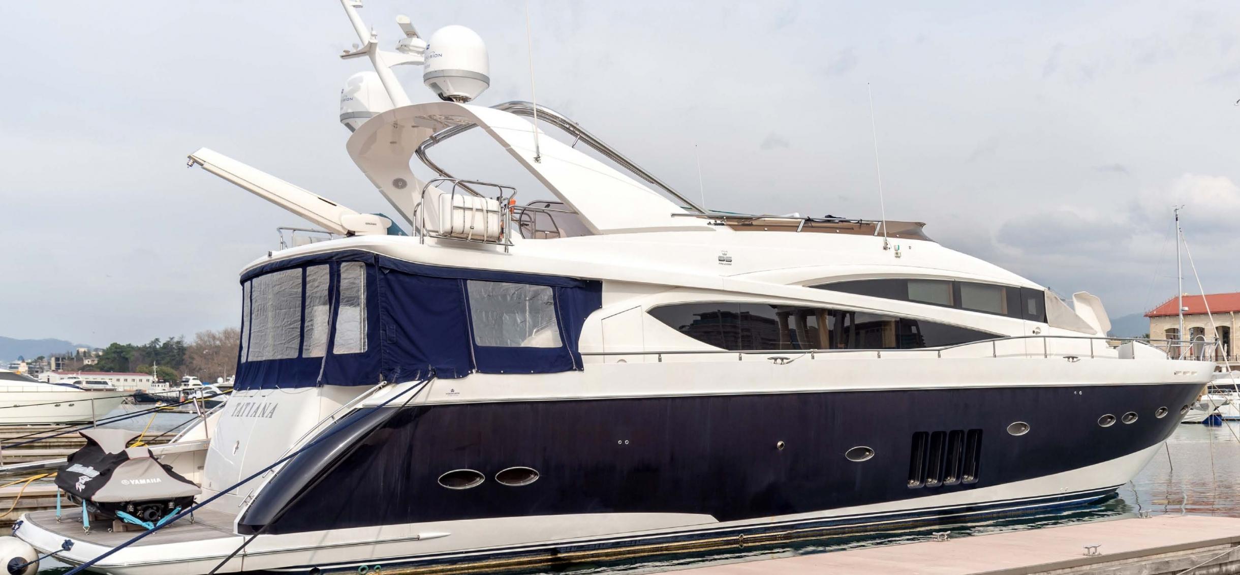 Яхта Princess 85 | Экстрьер 1